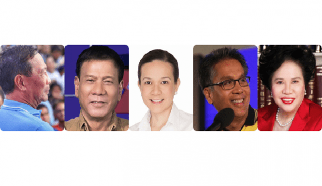 Repositioning Presidential Candidates by Josiah Go