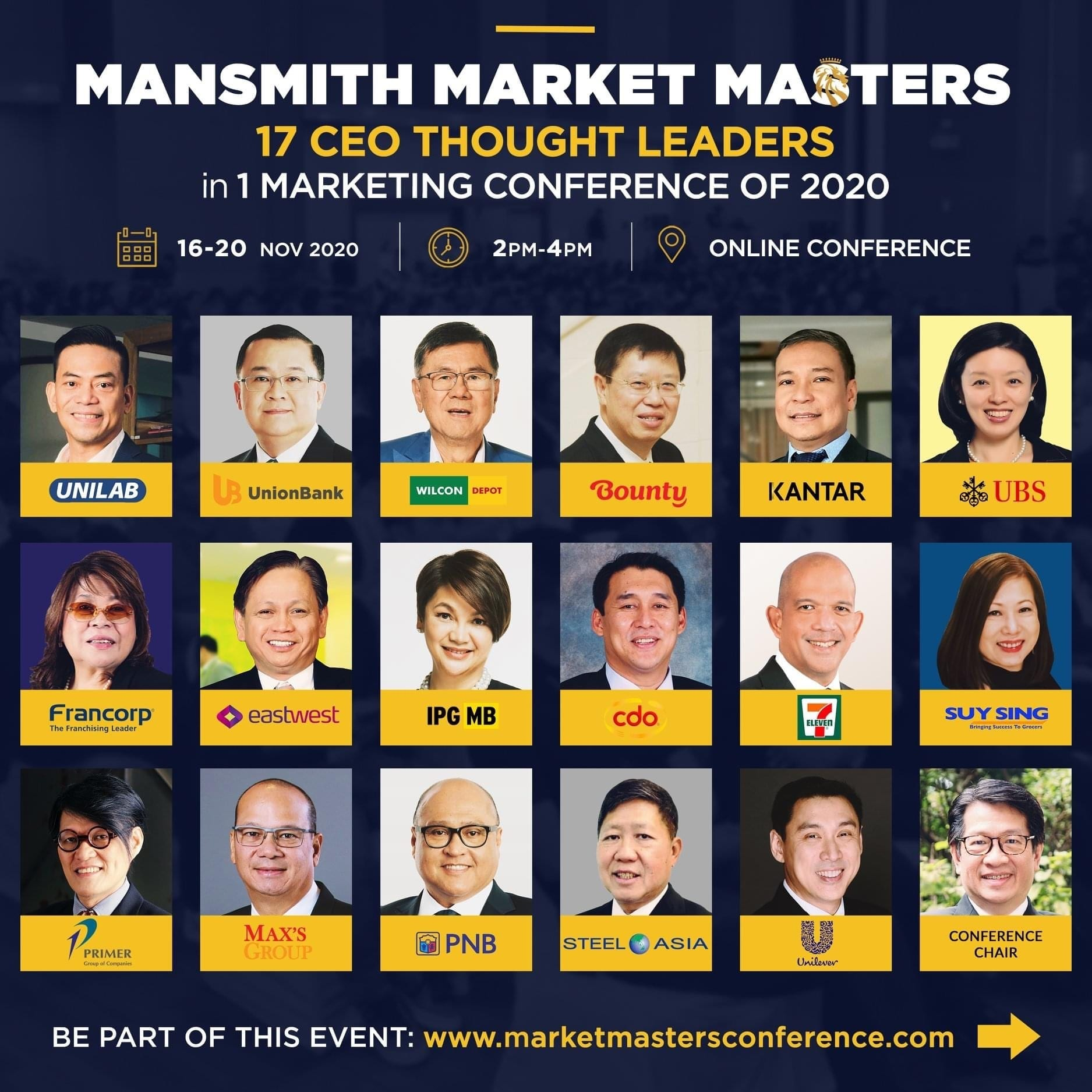 High-Impact Q&As with 17 CEO Market Masters