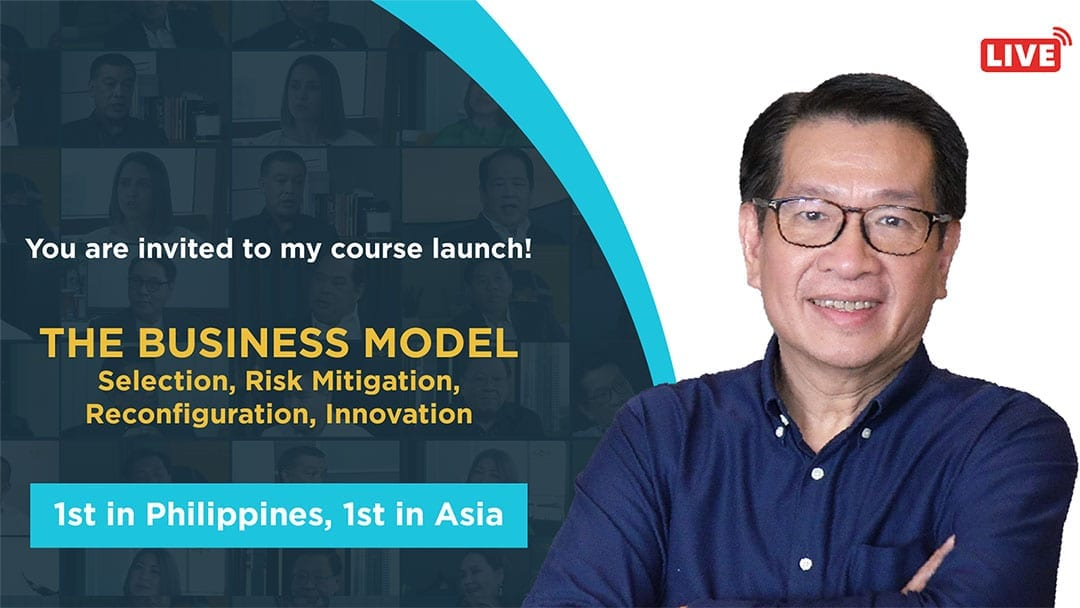 Invitation to My Video Launch: The Business Model Course: First in the Philippines, First in Asia