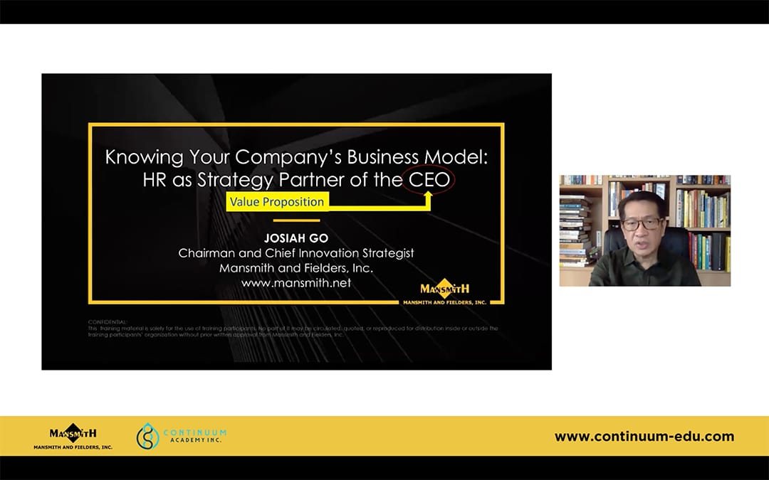 The WIC Model: Business Model Innovation for HR Professionals